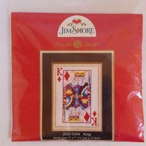 King of Diamonds Jim Shore Cross Stitch Kit
